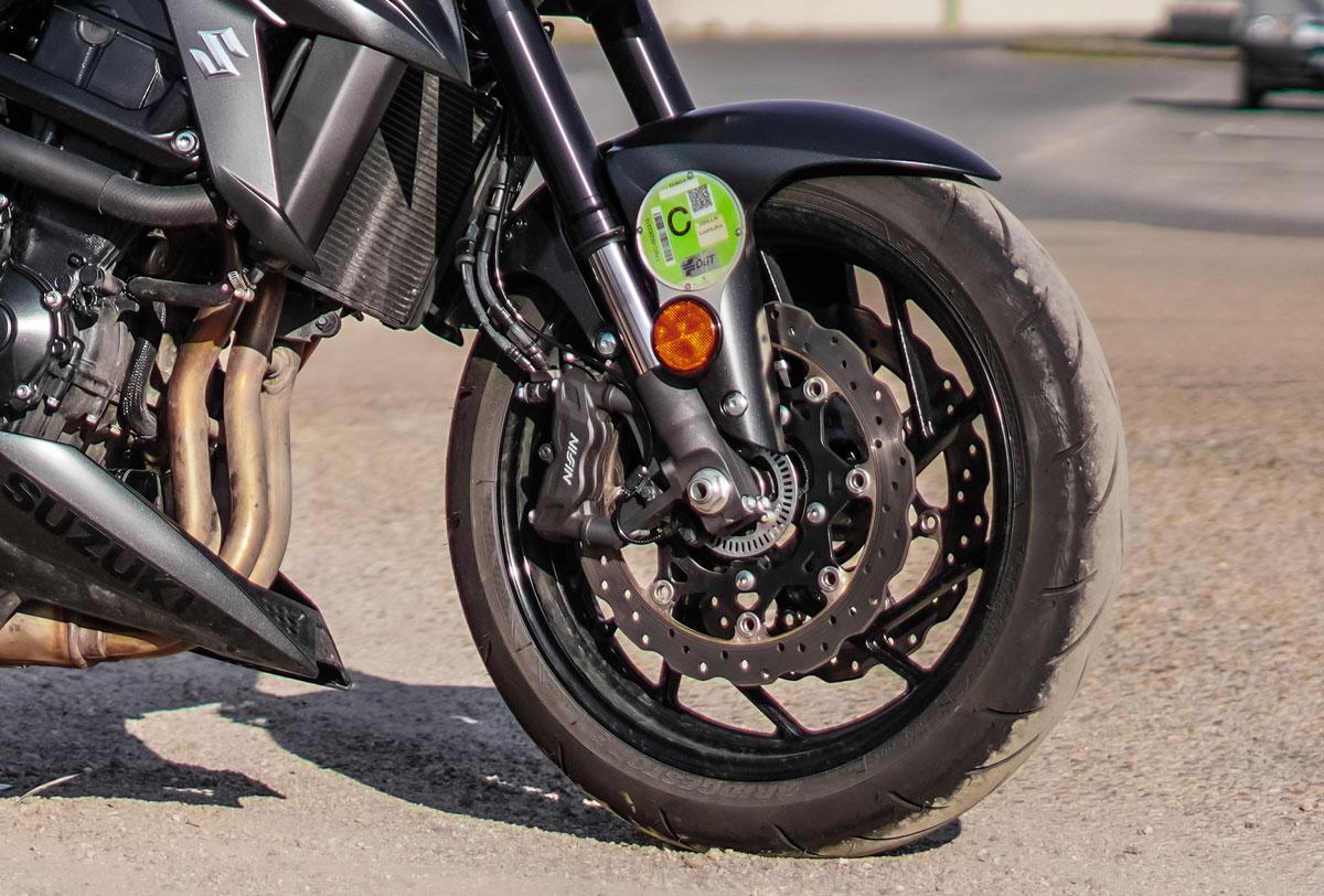 etiquetas moto