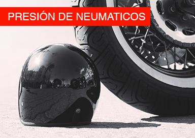 Consulta la presión de tus neumáticos